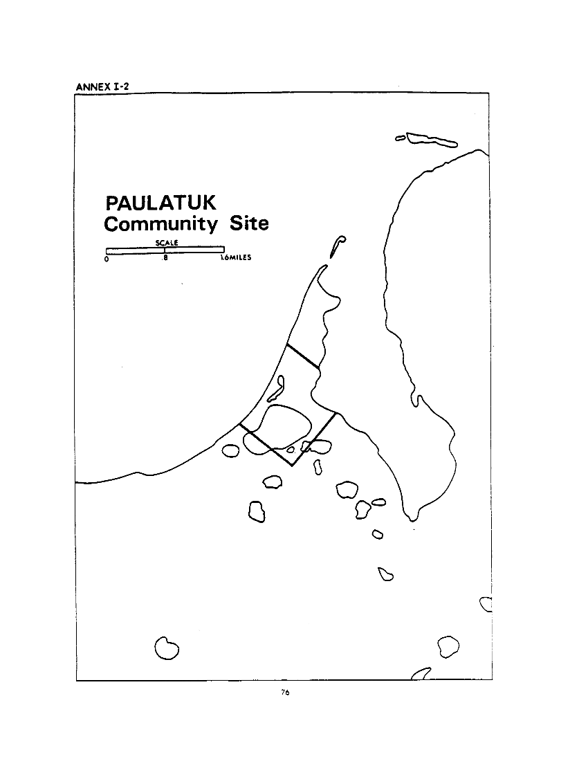 Paulatuk Community Site (map)