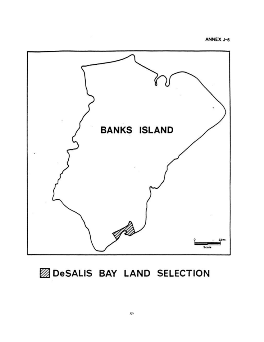 De Salis Bay Land Selection (map)