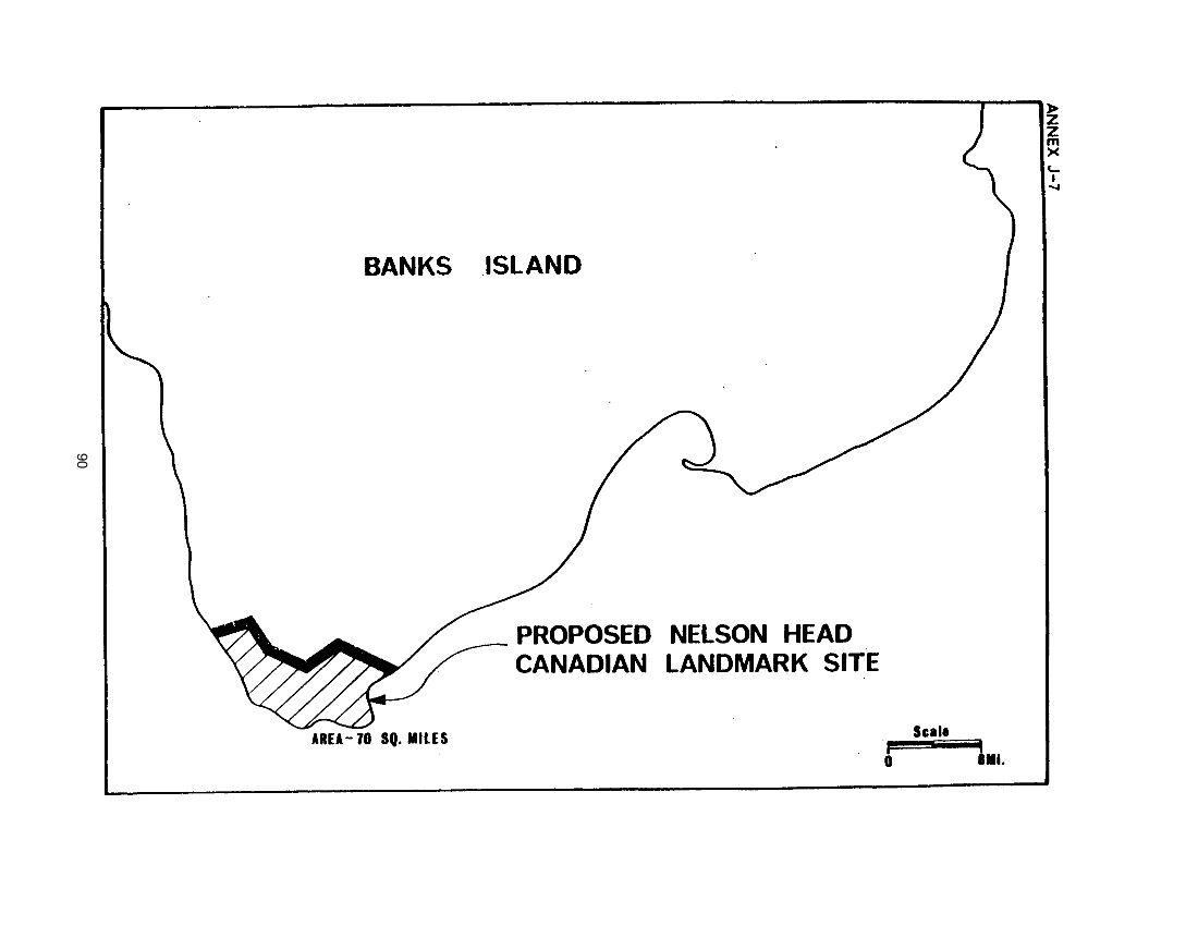 Proposed Nelson Head Canadian Landmark Site (map)