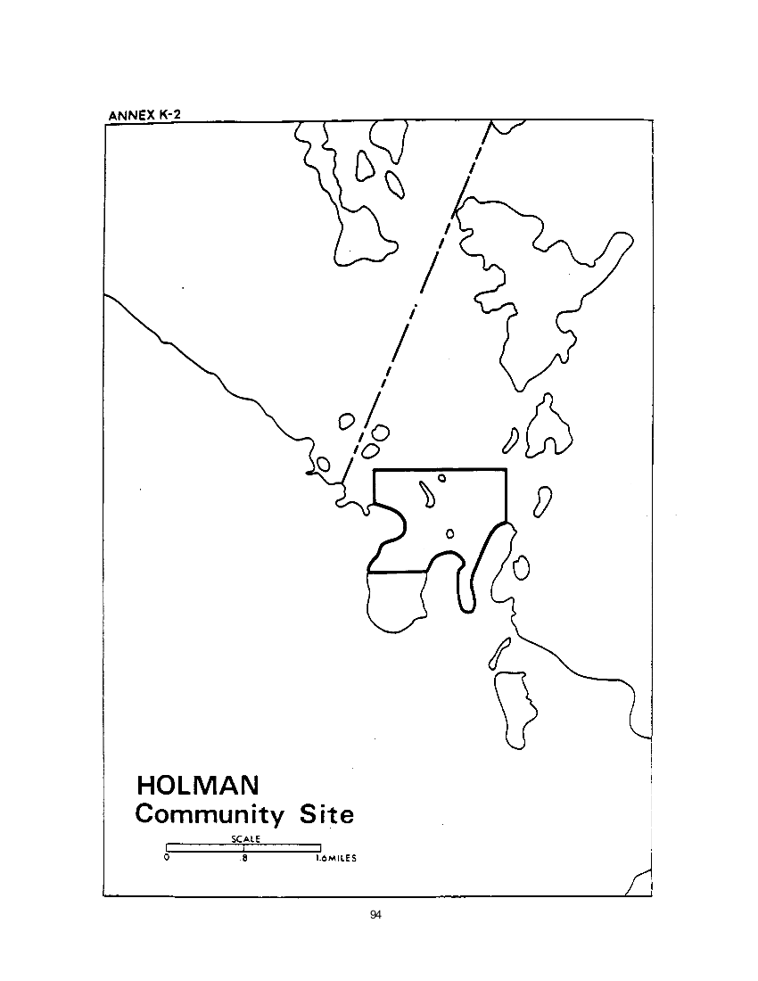 Holman Community Site (map)