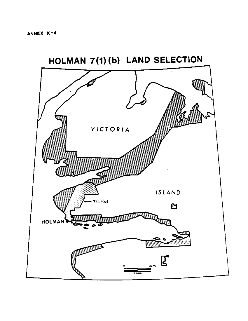 Holman 7(1)(b) Land Selection (map)