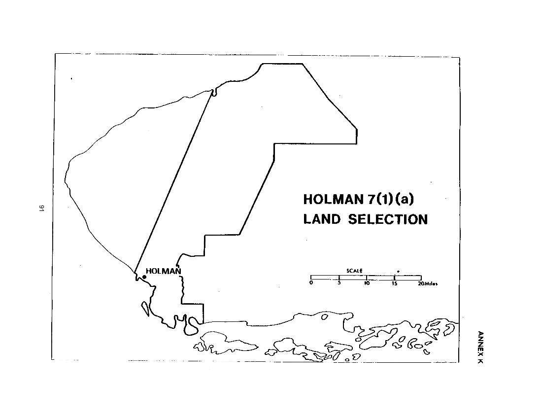Holman 7(1)(a) Land Selection (map)